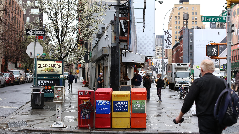 ひとつの街でこれほど複雑な表情を見せてくれるのがマンハッタンの魅力。