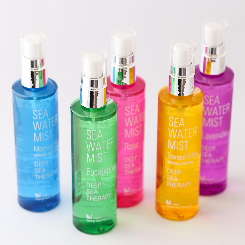 界面活性剤を一切、使用せず、オイルフリーのアロマを使用。5種類の香りで、全身に使用できるため男性にも好評とか。エアコンによる乾燥予防に最適。