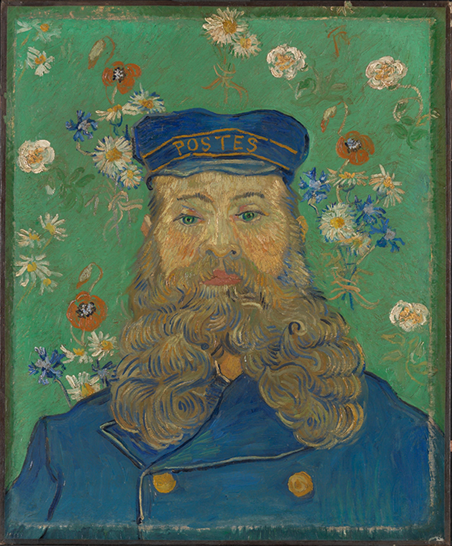 フィンセント・ファン・ゴッホ「ジョゼフ・ルーランの肖像」1889年2-3月 クレラー=ミュラー美術館 ©Kröller-Müller Museum, Otterlo