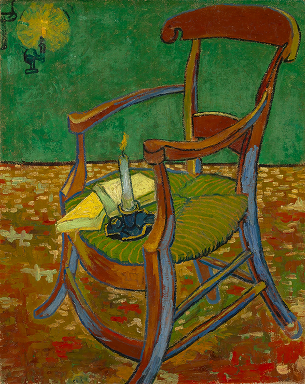 フィンセント・ファン・ゴッホ「ゴーギャンの椅子」1888年11月 ファン・ゴッホ美術館(フィンセント・ファン・ゴッホ財団) ©Van Gogh Museum, Amsterdam (Vincent van Gogh Foundation)