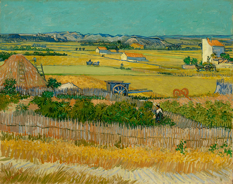フィンセント・ファン・ゴッホ「収穫」1888年6月 ファン・ゴッホ美術館(フィンセント・ファン・ゴッホ財団) ©Van Gogh Museum, Amsterdam (Vincent van Gogh Foundation)