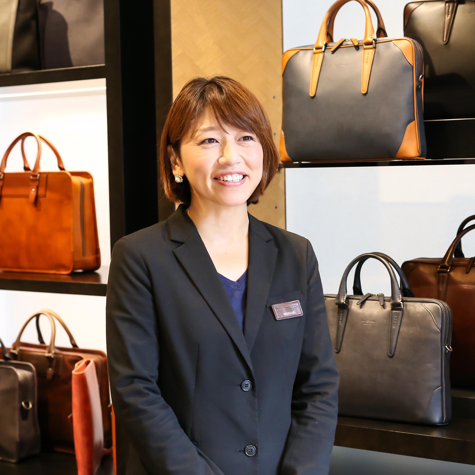 VILLA事業部 広報マネジャーの外垣 海さん。