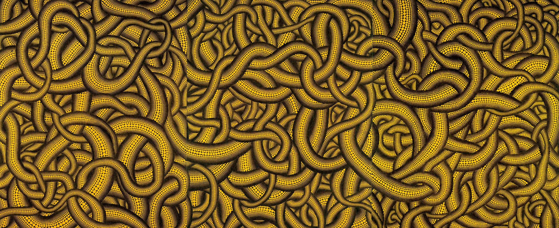 「黄樹」フォーエバー現代美術館 ©YAYOI KUSAMA