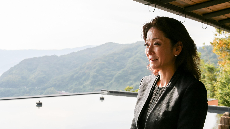 女将の荒井 眞由美さん。