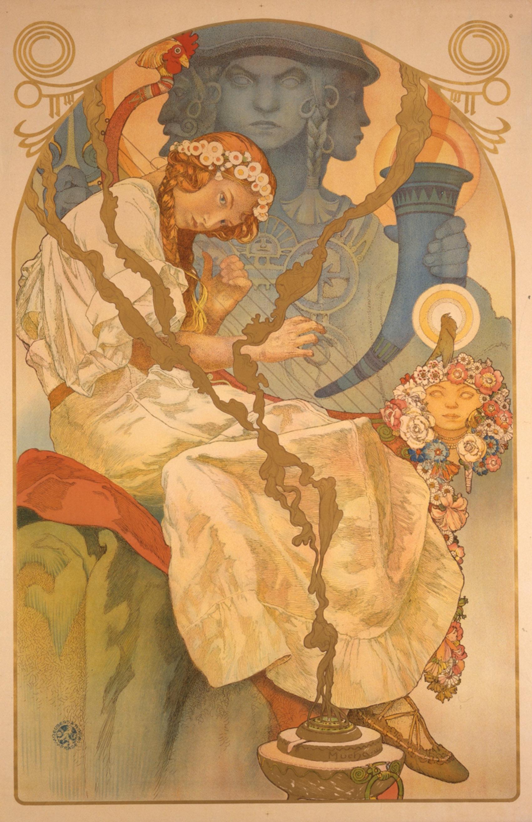 《「スラヴ叙事詩展」ポスター》1928年 堺市