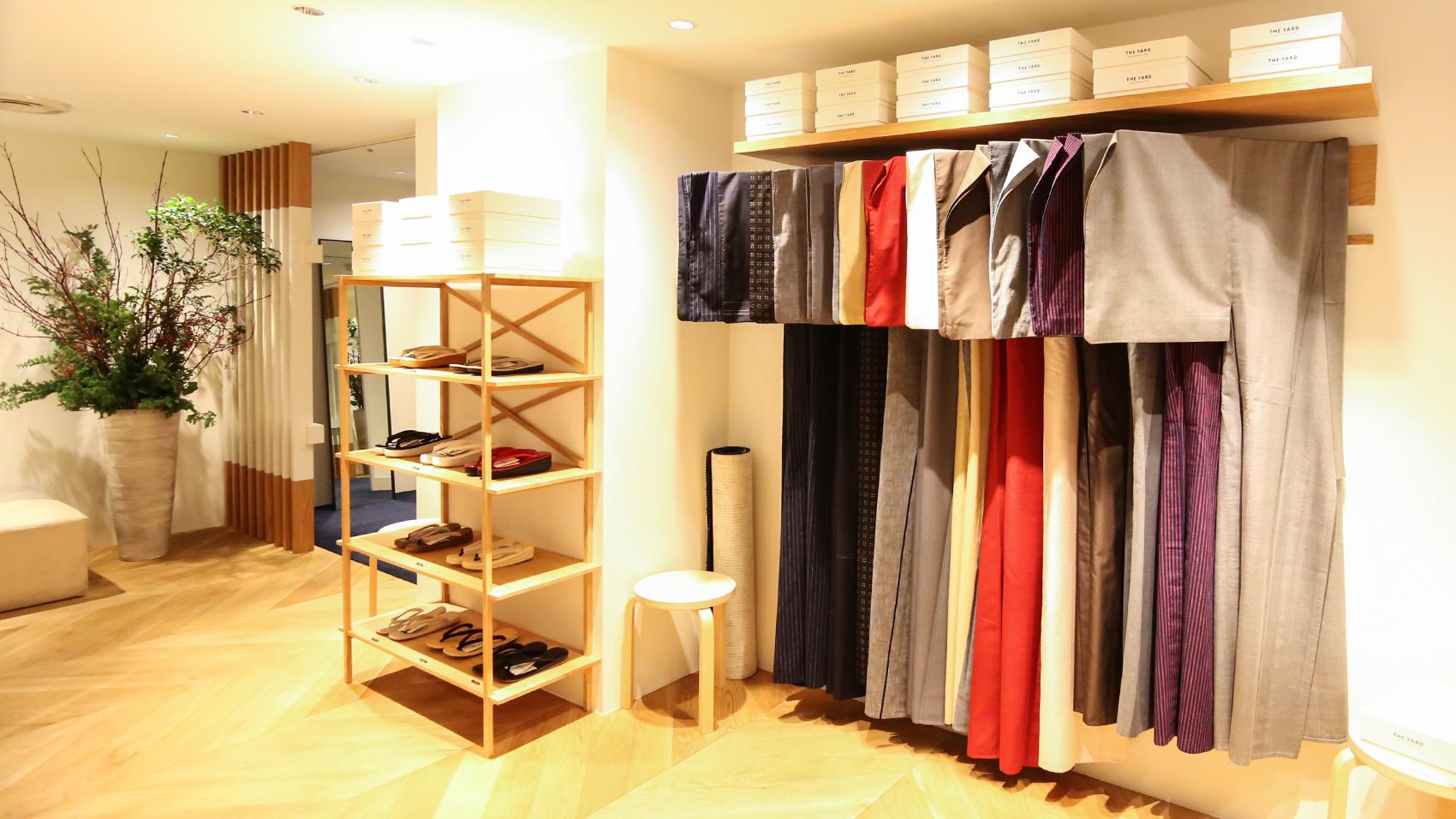 着物の帯レンタルやクリーニングなどのメンテナンスも充実している。